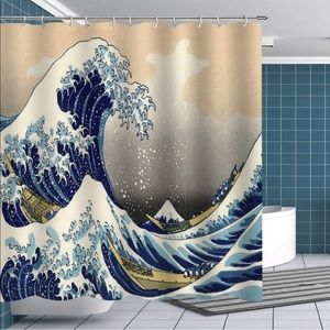 Other - Sea Great Wave Shower Curtain